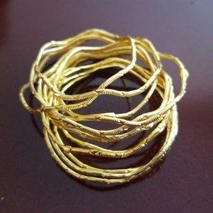 Jewelry - Gold Baby Bangles Bangle Bracelets Egypt S1